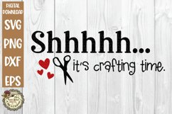 Craft Humor SVG Bundle-Funny Crafter Quotes-Crafting Time Product Image 3