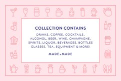 Line Icons - Drinks Product Image 2