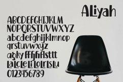 Web Font Aliyah - Handlettered Font Product Image 5