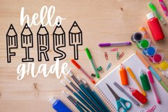 Graders - A School Font Perfect For Teachers & Students! Product Image 5