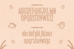 Sunday Coffee - Rounded Outline Typeface Product Image 5