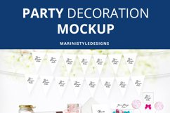 Party Decoration Mockup Bundle, Party Scene Creator 967 Product Image 5