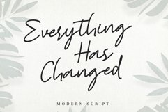 Everything Has Changed Product Image 1