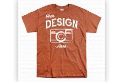 Unisex T Shirt Mockup Bundle With White Backdrop 70 Colors Product Image 6