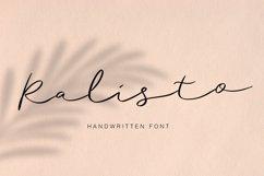 Ralisto Handwritten Product Image 1