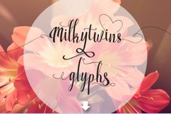 Milkytwins Modern Wave Calligraphy Product Image 5