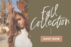 Fall Harvest - A Handwritten Script Font with extras! Product Image 2
