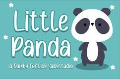 Little Panda - a Quirky Font Product Image 1