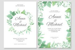 Wedding invitations vector set #2 Product Image 2