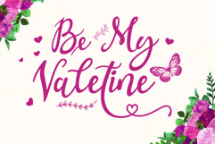 Valentina - a lovely callygraphy typeface Product Image 3