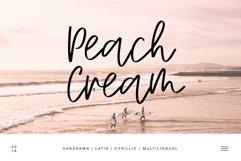 Peach Cream Latin & Cyrillic Product Image 1