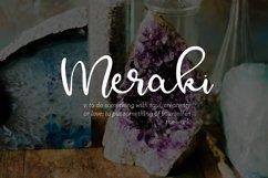 Meraki - A Flowing Script Product Image 1
