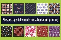 HJ 02, 10 Hijab Sublimation Patterns Product Image 2