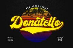 Donatello II new retro script Product Image 2