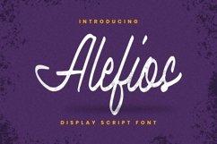 Web Font Alefios Font Product Image 1