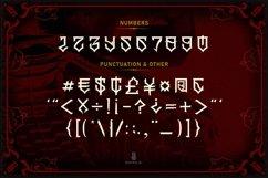 GILLES DE RAIS | gangster type font Product Image 4