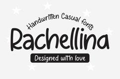 Web Font Rachellina - Handwritten Casual Font Product Image 1