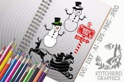 Traditional Christmas Bundle SVG, Silhouette Studio, Cricut Product Image 1