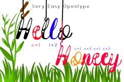 Hanging Darling Decorative Holiday Font Product Image 4