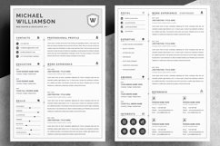 Resume Resume   Clean & Professional Product Image 2