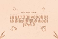Sunday Coffee - Rounded Outline Typeface Product Image 4