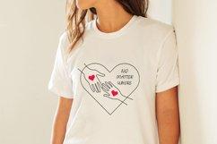 Long distance love svg, Valentines svg Product Image 2