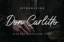 Don Carlitto - Elegant Signature Font Product Image 1