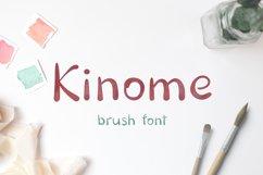 Kinome - Brush font Product Image 1