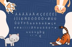 Meows Font Product Image 3