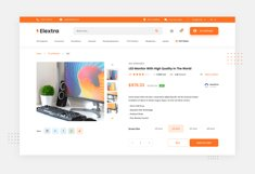 Elextra Electronic E-commerce Website Template Product Image 3