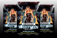 Halloween Party Flyer Template Product Image 1