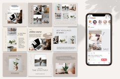 Neutral Instagram Posts Template Product Image 2