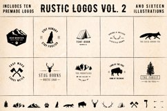 Rustic Logos Volume 2 AI EPS PNG PSD Product Image 1