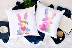 Easter Bunny Sublimation PNG,Bunny Print, Happy Easter Product Image 2