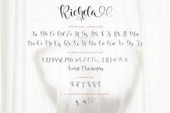Richela Beautiful Lovely Modern Script Font Product Image 6