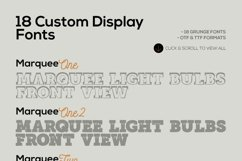 Marquee - 18 Grunge Fonts Product Image 5