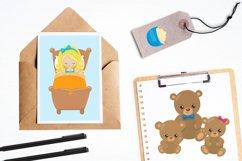 Goldilocks graphics and illustrations Product Image 4