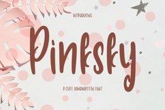Web Font Pinksky - Cute Font Product Image 1