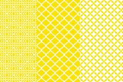 Yellow Geometric Tiles Digital Paper Product Image 2