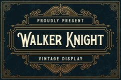 Walker Knight Product Image 1