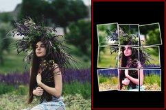 Vertical Panels Portrait Photoshop Action Product Image 6