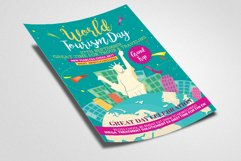 Happy World Tourism Day Flyer Template Product Image 2