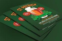 St Patricks Day Beer Party Flyer Product Image 3