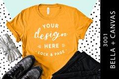 T-Shirt Mockup Bella Canvas 3001 Fashion Blog Style Bundle Product Image 4