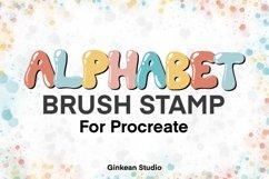 Alphabet brushes, 26 Alphabets brush stamp procreate Product Image 2