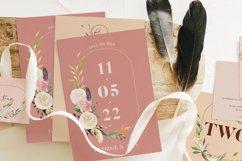 Nude & Terracotta Foliage Wedding Suite Product Image 1