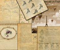Vintage Digital Paper Product Image 3