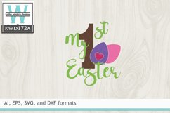 Easter SVG - My First Easter Product Image 2