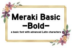 Meraki Basic Bold | Sans-Serif Font Product Image 1
