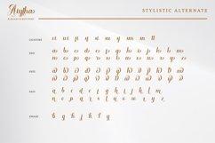 Aiytha-Elegant Caligraphy Font Product Image 6